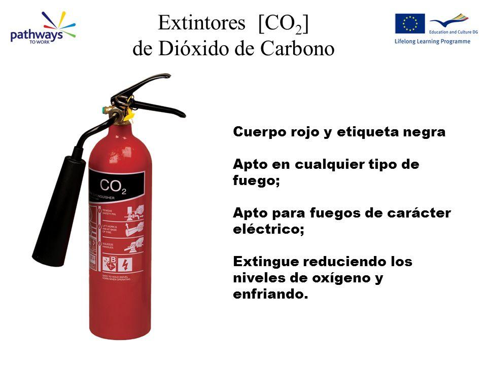 Extintores [CO2] de Dióxido de Carbono